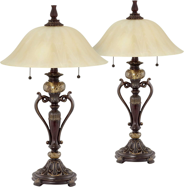 Amor Bronze Table Lamp Set of 2