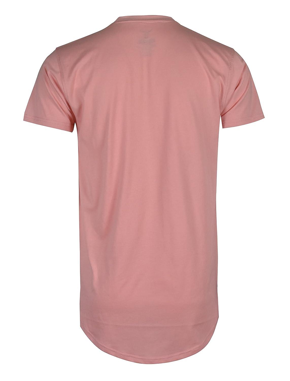 SCREENSHOT Screenshotbrand Mens Hipster Hip-Hop Premiun Tees Stylish Longline Embossed Gold Print T-Shirts