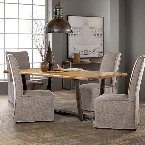 Amazon.com - Hooker Furniture Live Edge Dining Table - Tables
