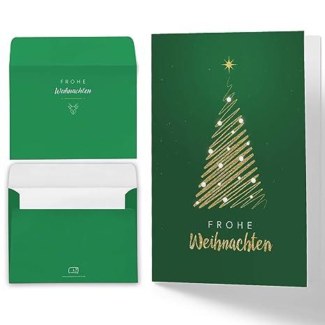 Auguri Di Buon Natale Ufficio.15 Biglietti Natalizi Con Buste Diverse Colori Biglietti