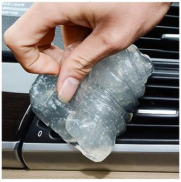 Ularma Coche auto limpiar pegamento goma Gel limpieza aire salida ventilación Interior teclado limpiador