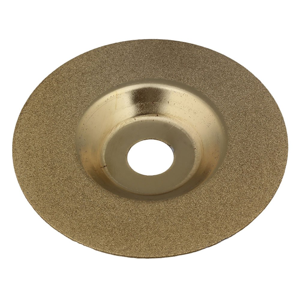 Mxfans Diamond Grinding Disc Wheel Glass 4' for Angle Grinder Golden blhlltd