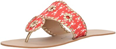 66966e7ed Amazon.com  Jack Rogers Women s Captiva Flat Sandal  Jack Rogers  Shoes