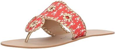 618d68eac8ae Amazon.com  Jack Rogers Women s Captiva Flat Sandal  Jack Rogers  Shoes