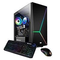 iBUYPOWER Gaming PC Computer Desktop 1000iV2 (Intel i7-10700F 2.9GHz, NVIDIA GeForce RTX 2060 6GB, 16GB DDR4 RAM, 480GB SSD, 2TB HDD, WiFi Ready, Windows 10 Home)