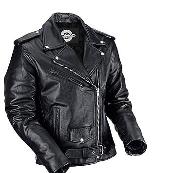 12445e56acf Amazon.com  Nomad USA Classic Biker Jacket (L)  Automotive
