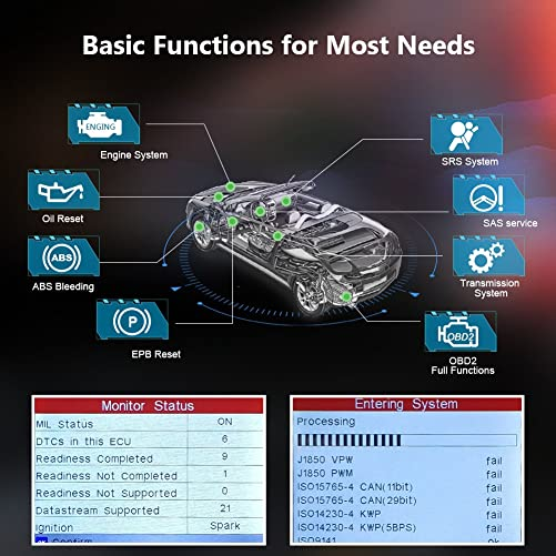 the CRP 129 professional Obd2 scanner will be ready to help you fix all the latest models of automobiles.
