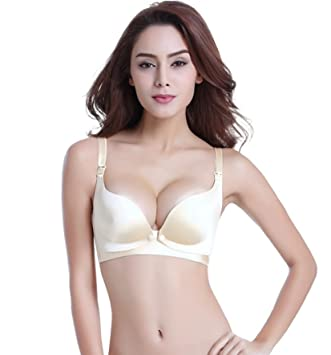 276cfe5c60 Amazon.com   Plus Size Maternity Nursing Bra Wire Free Breastfeeding Bra  for Pregnant Women Underwear Breast Feeding Bra Nursing Clothes (36