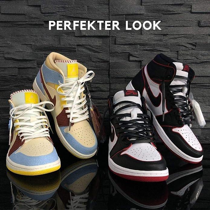 Ant alcove Grand  Lacci da scarpe adatti per Nike Air Max, Nike Air Force, Nike Air Jordan in  pelle, lacci in pelle con piani in metallo Lacci da scarpe: Amazon.it:  Scarpe e borse