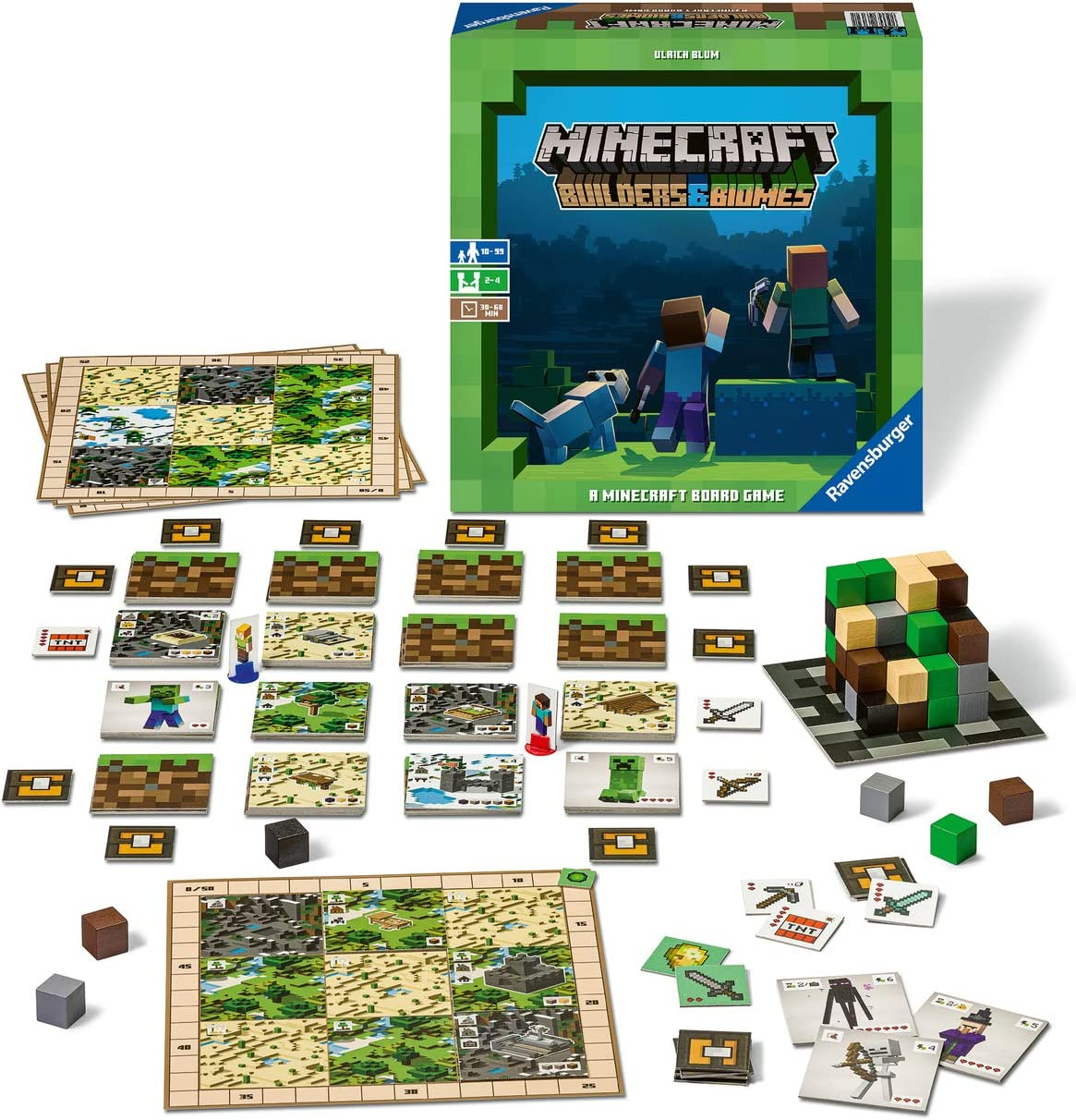 Daily Deals On Family Board Games Perfect For Nights In - Minecraft Strategy Game