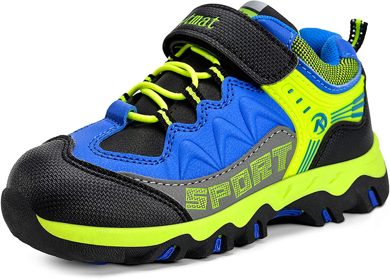 MARSVOVO Boys Girls Hiking Shoes