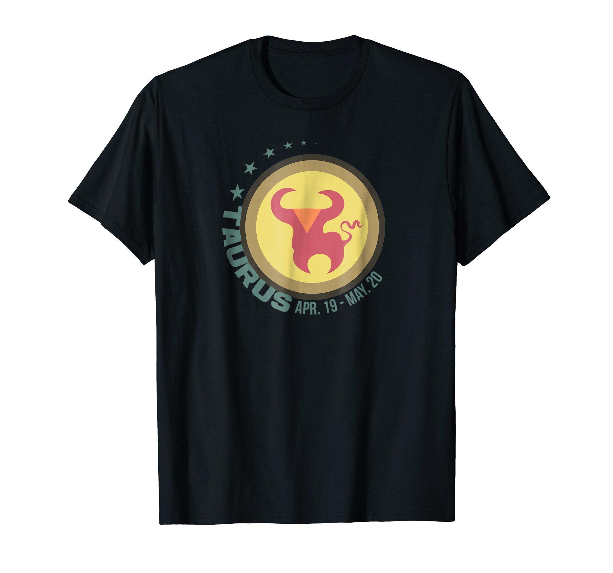 Taurus Zodiac Sign T Shirt