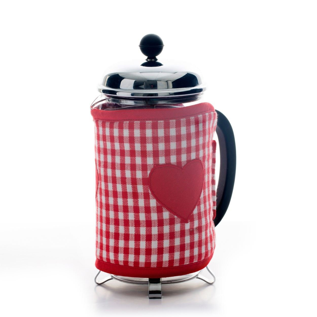 Dexam Vintage Home Claret Red Cafetiere Cosy - 6 & 8 Cup 16150203