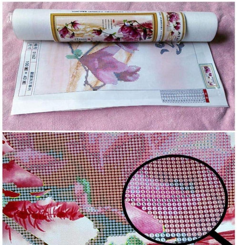 40cm DIY 5D Diamond Painting Cross Stitch Diamond Embroidery Pink Unicorns /& Rainbow living room home decoration adult children gift 30