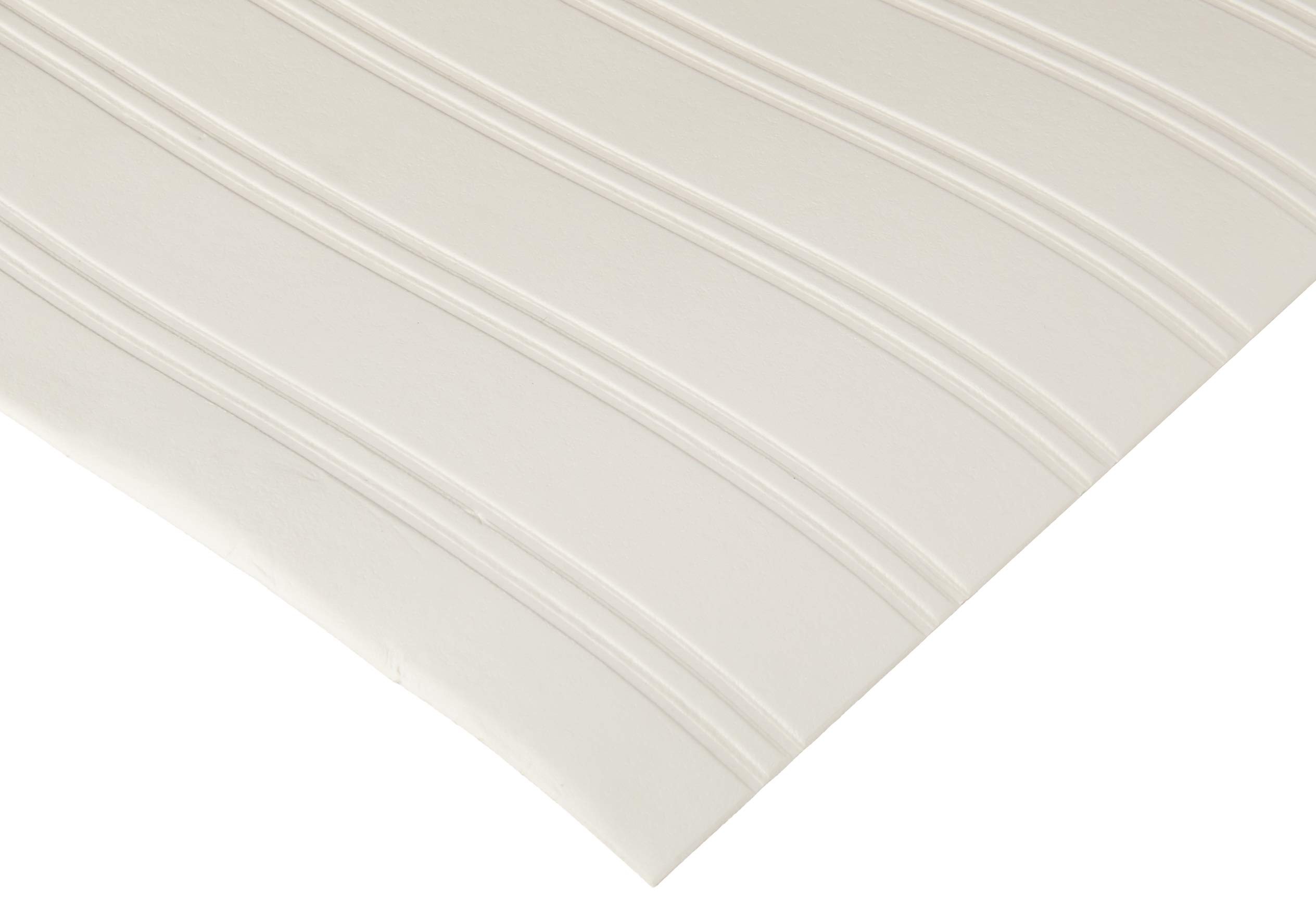Graham & Brown Paintable Prepasted Beadboard Stripes Texture Wallpaper, White by Graham & Brown