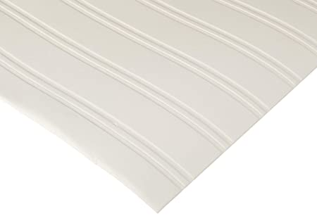Paintable Prepasted Beadboard Wallpaper In White