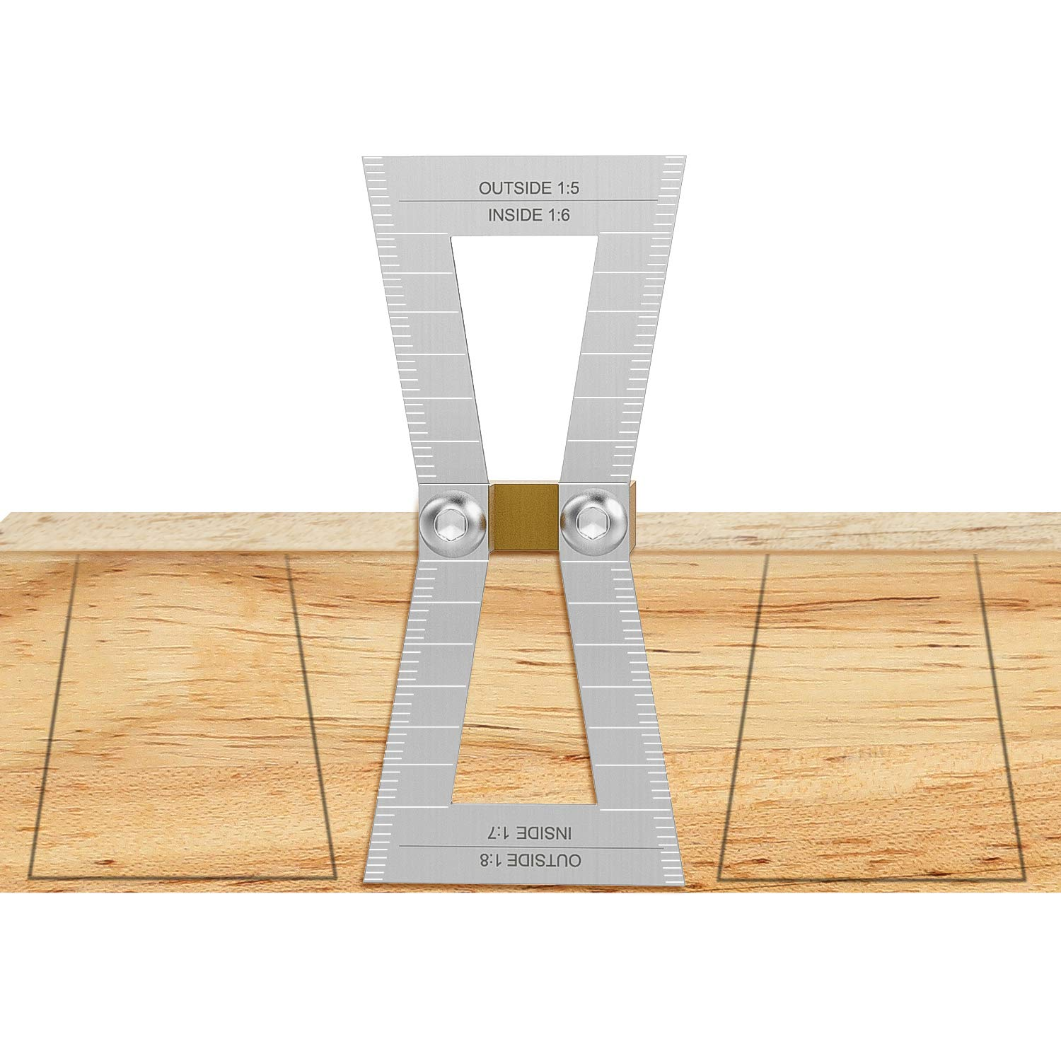 Housolution Dovetail Marker Hand Cut Wood Joints Gauge