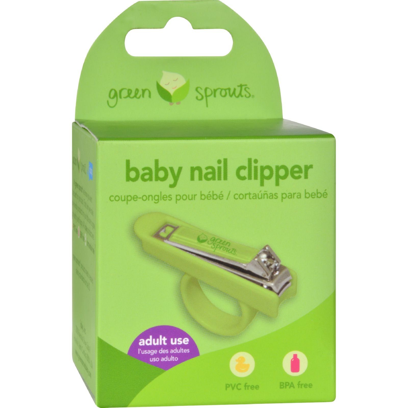 Green Sprouts Nail Clippers (Pack of 2)