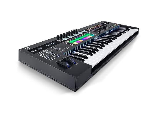 Novation 49-Key Midi Controller Negro controlador de red: Amazon.es: Instrumentos musicales