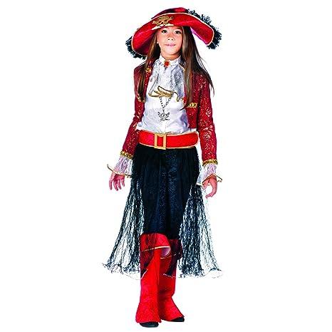 Disfraz de niño Pirata Reina María Lote de accesorios Pirata ...