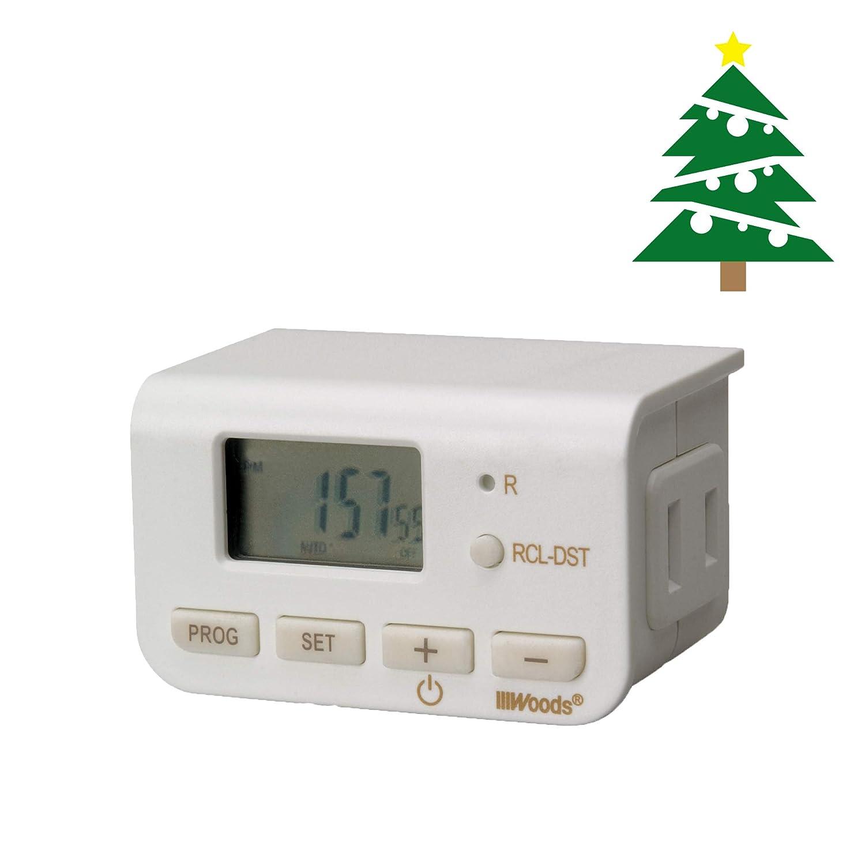 Woods 50007WD Indoor 24-Hour Digital Plug-In Timer, 2 Pack, 1 ...