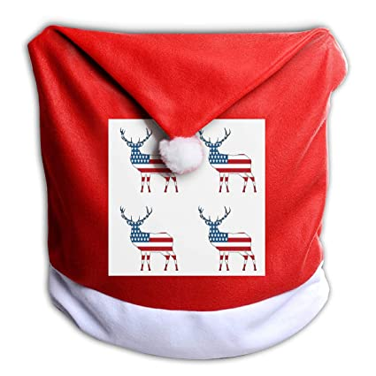 Miraculous Amazon Com Mojp9 Christmas Chair Covers Decor American Spiritservingveterans Wood Chair Design Ideas Spiritservingveteransorg