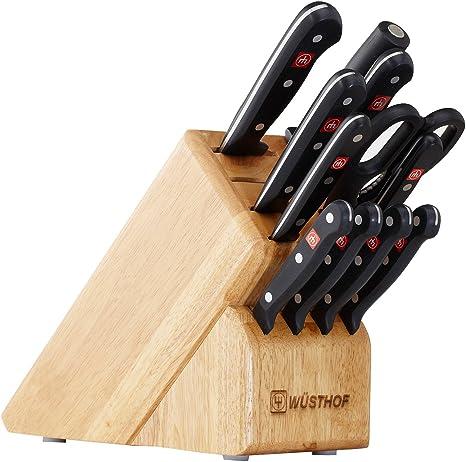 Amazon.com: Wüsthof 9312 juego de cuchillos, 12 piezas ...