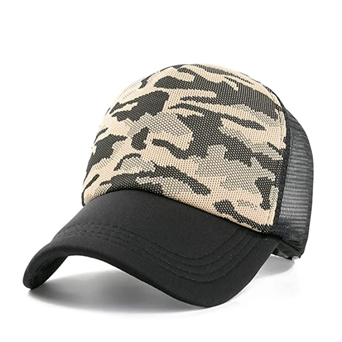 ed7b535e255ed Image Unavailable. Image not available for. Color  LONIY New Women Baseball  Cap Camouflage Mesh Caps for Women Summer ...