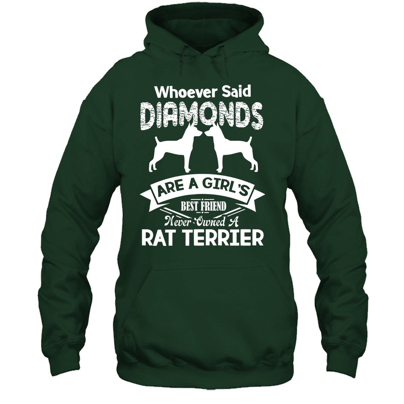 Rat Terrier Tee Shirt Best Friend Never Owned A Rat Terrier T Shirt Design