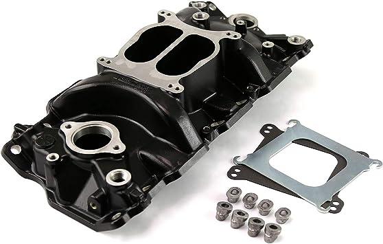 Intake Manifold Black Non Egr Speedmaster 1-147-003 Chevy SBC 350 LowRise 1957-95