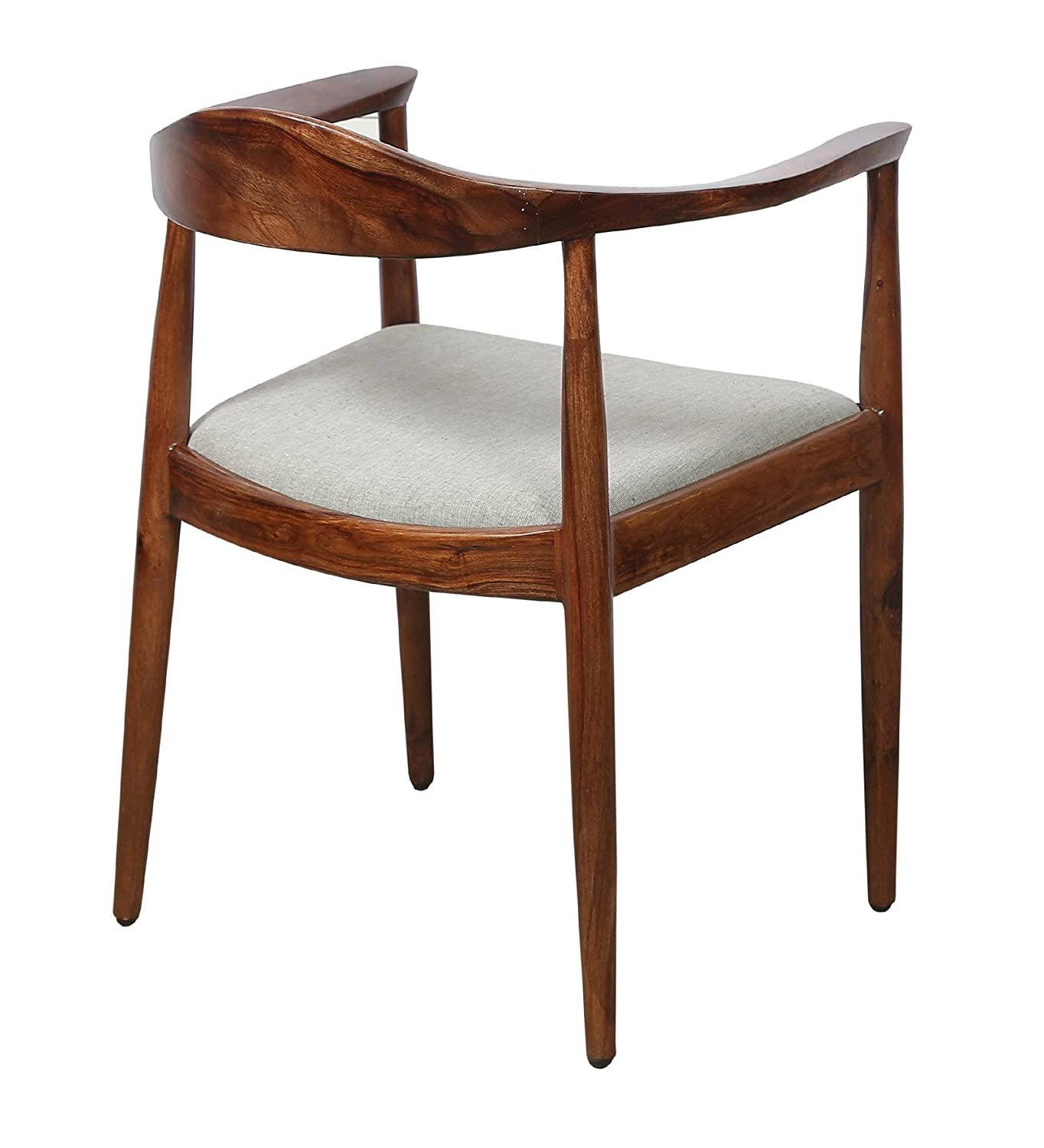 Vriksh Of Life Obra Teak Wood Dining Chair Amazon In Home Kitchen