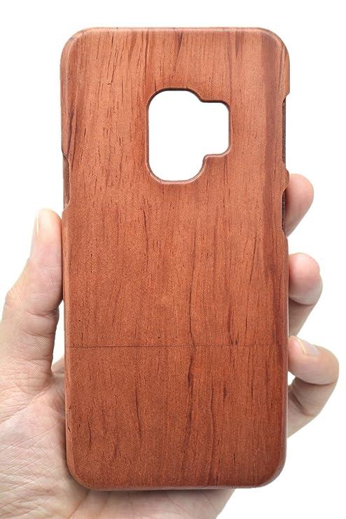 samsung s9 custodia legno
