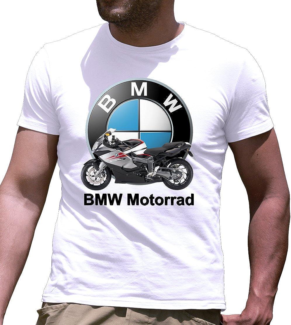 Camiseta de Manga Corta BMW Motorrad K1300S Impresos a Mano: Amazon.es: Ropa y accesorios