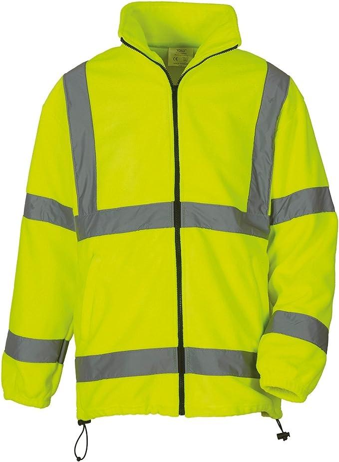 veste polaire jaune homme