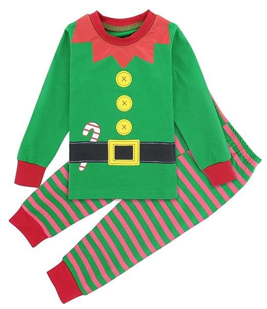nuovo concetto 14aeb 0cee9 Mombebe Pigiama Bambino Natale Inverno Abbigliamento Set