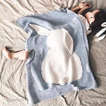 EnjoyBridal® Baumwolle Decke Kuscheldecke Babydecke Erstlingsdecke ...