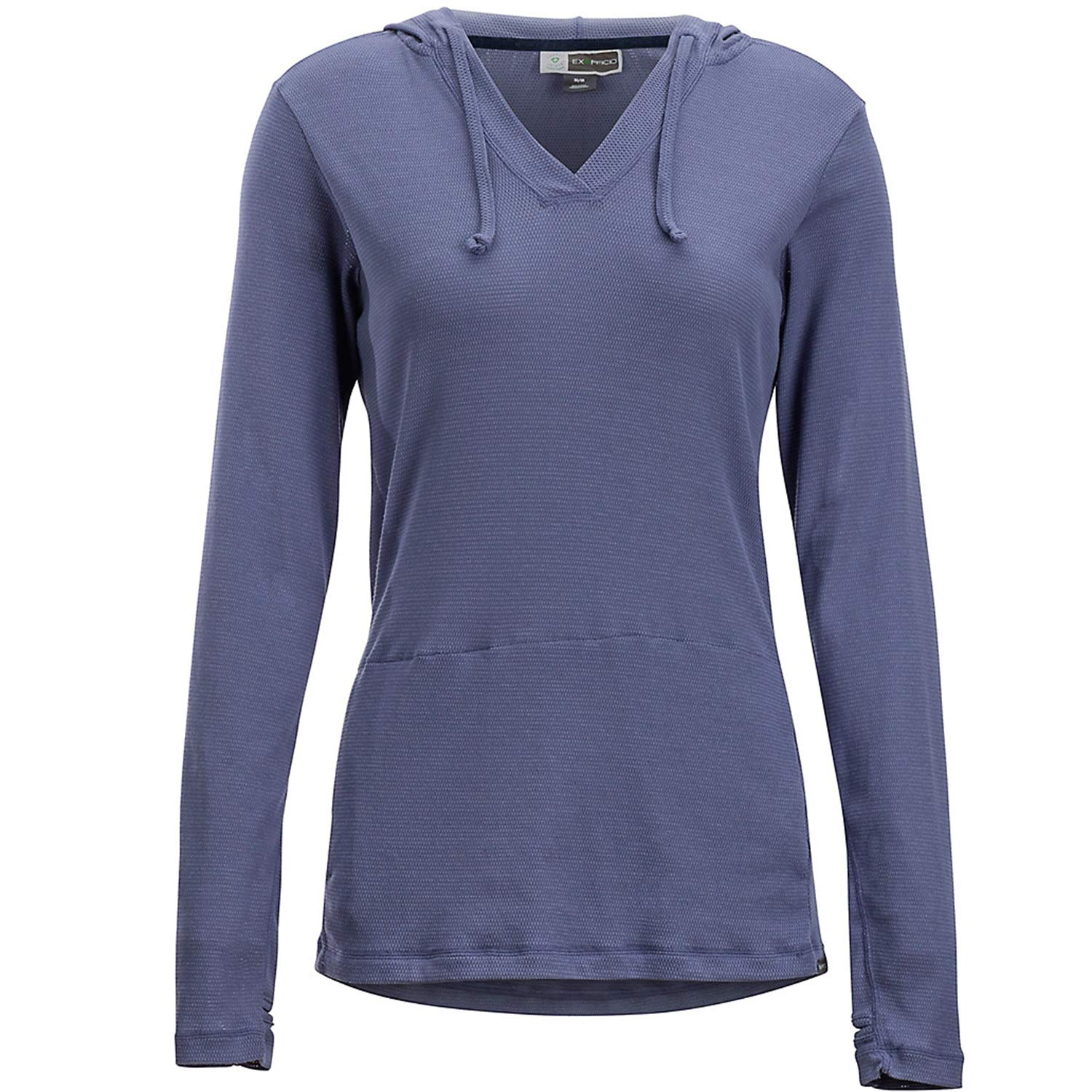 ExOfficio Women's BugsAway Lm Hoody, Blue Heron, X-Large by ExOfficio
