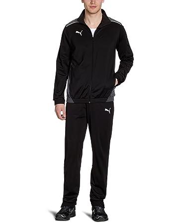 Puma Herren Trainingsanzug Foundation Poly Suit II, Black-Dark Shadow, S,  653575