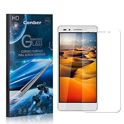 Conber (3 Pack) Screen Protector for Huawei Honor 7, [Scratch-Resistant][Anti-Shatter][Case Friendly] Premium Tempered Glass Screen Protector for Huawei Honor 7: Baby