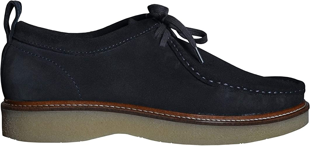Dark Grey Suede Shoe 8 UK/42 Euro