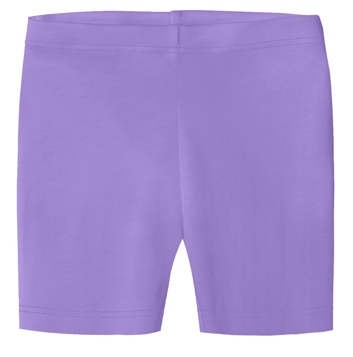 City Threads Little Girls Underwear Bike Shorts In All Cotton Perfect For SPD and Sensitive Skin Sports Dance School Uniform, Deep Purple 3T
