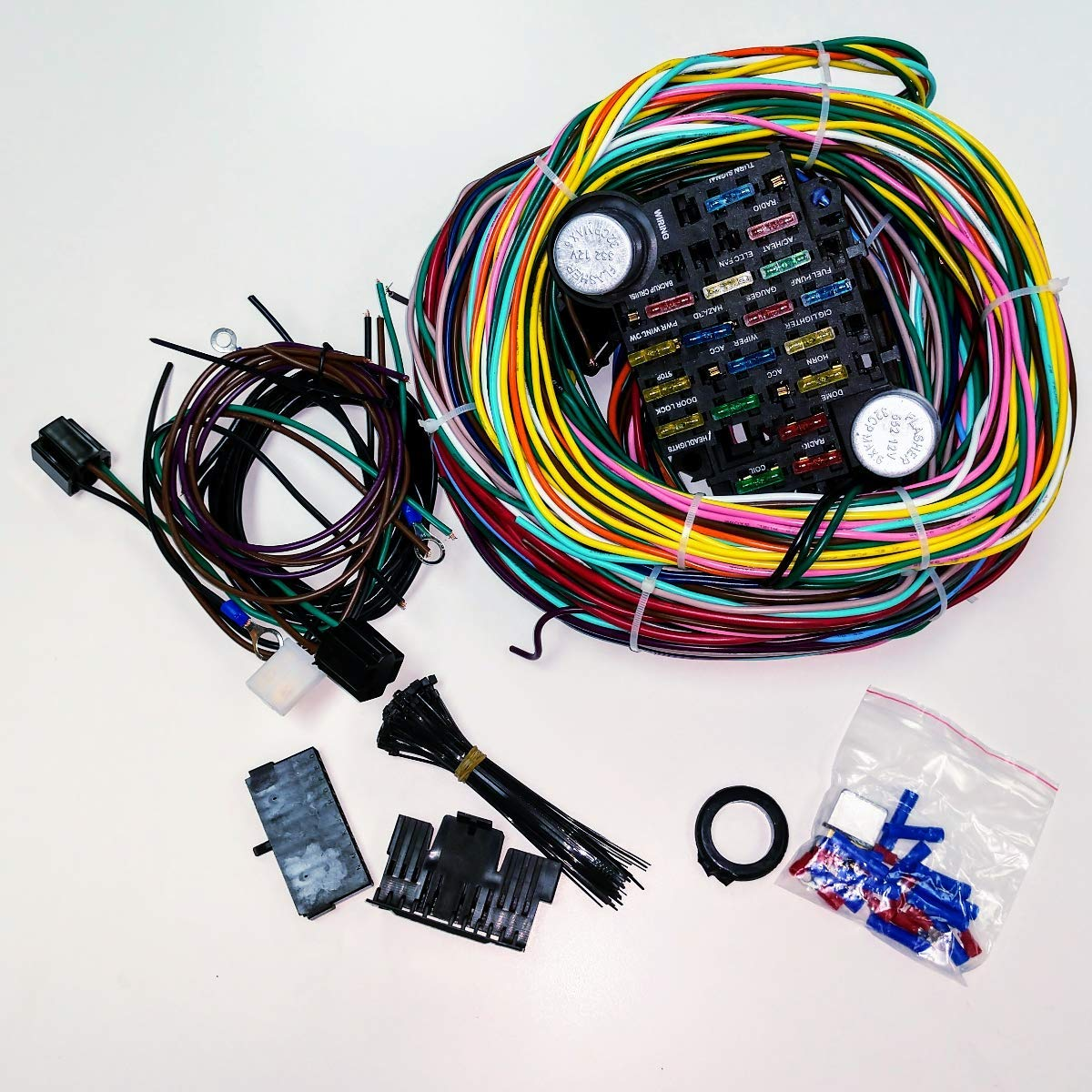 Fabulous Rat Rod Wiring Harness Wiring Diagram Wiring Digital Resources Antuskbiperorg