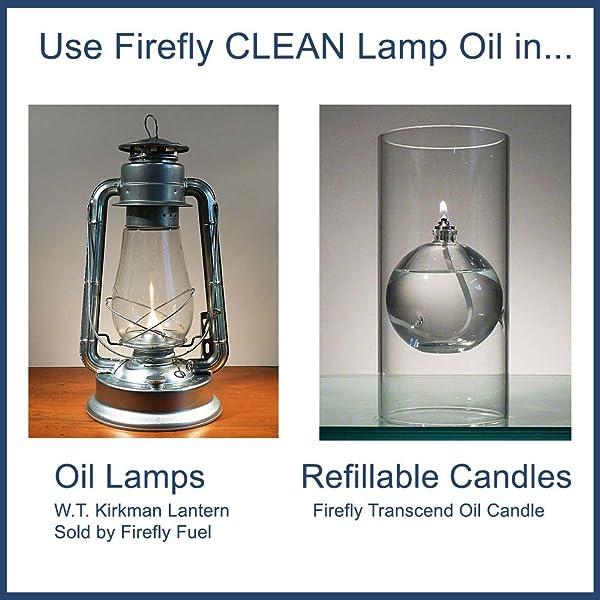 Amazon.com: Firefly CLEAN Fuel Lamp Oil - 32 oz. - Smokeless ...