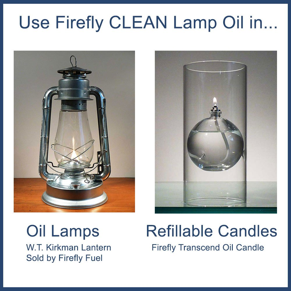 Firefly Paraffin Lamp Oil - 1 Gallon - Odorless & Smokeless - Simply Pure - Ultra Clean Burning by Firefly (Image #5)