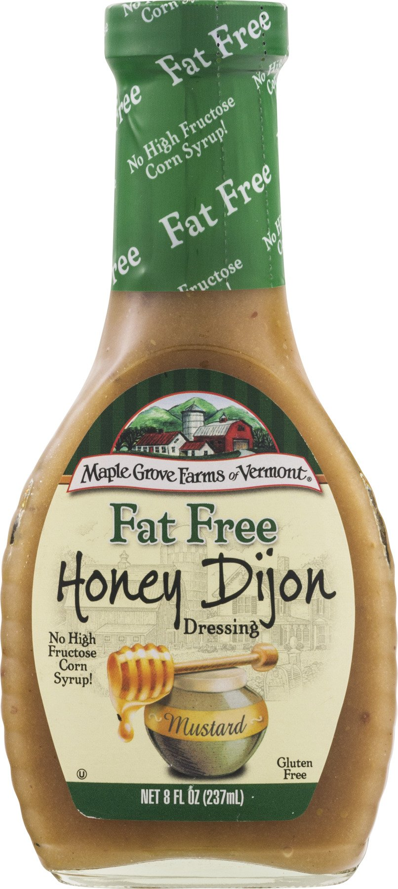 Maple Grove Farms Fat Free Honey Dijon Dressing, 8 oz