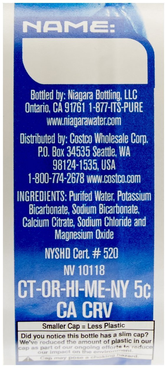 Kirkland Signature Premium Drinking Water, 8 Oz, 80Count
