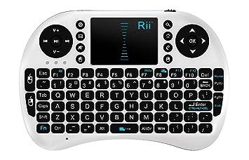 Riitek Mini i8 Teclado Tactil Wireless 2.4GHZ (Español): Amazon.es: Informática