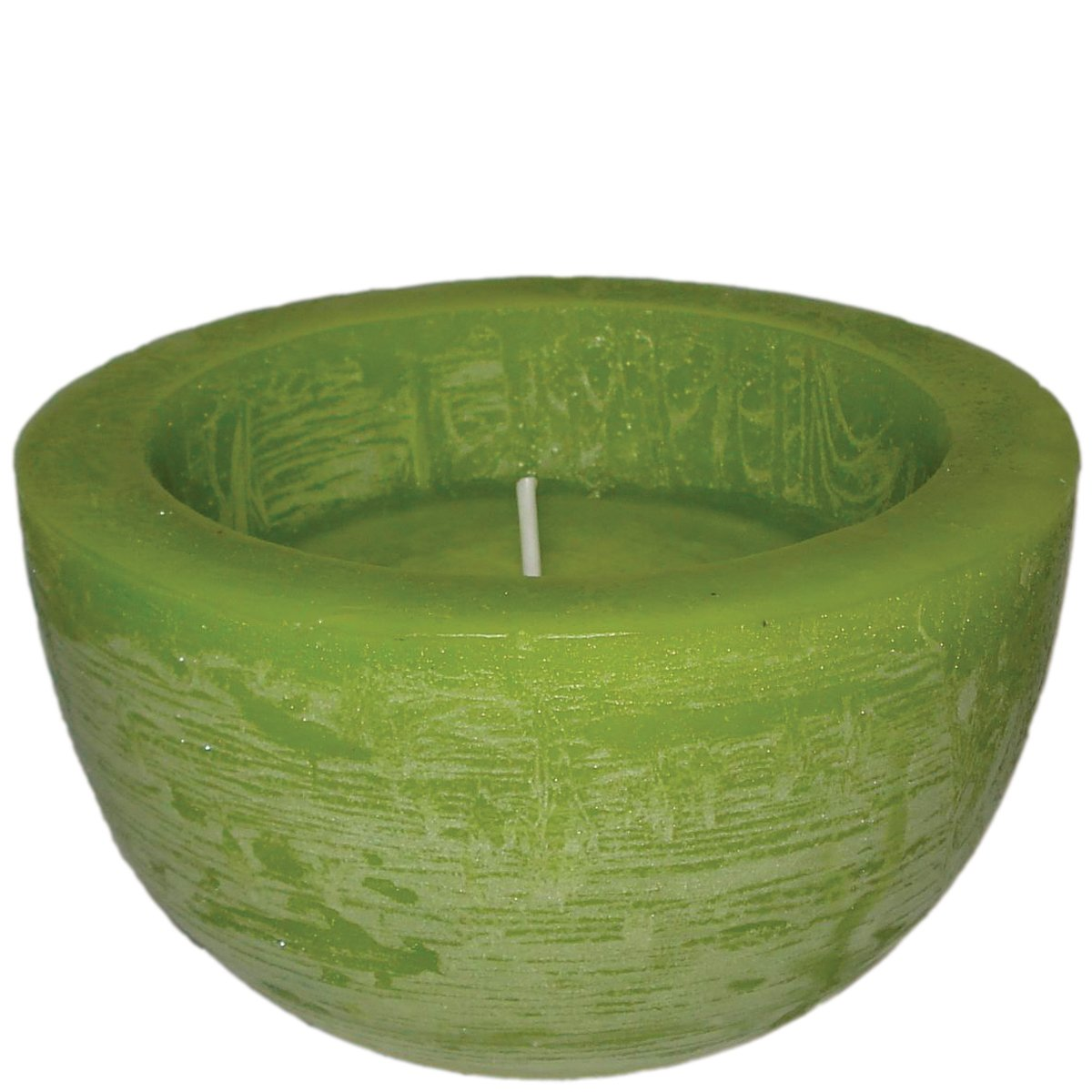 laroom 11461–Candela Mela Grande Ciotola, Colore: Verde