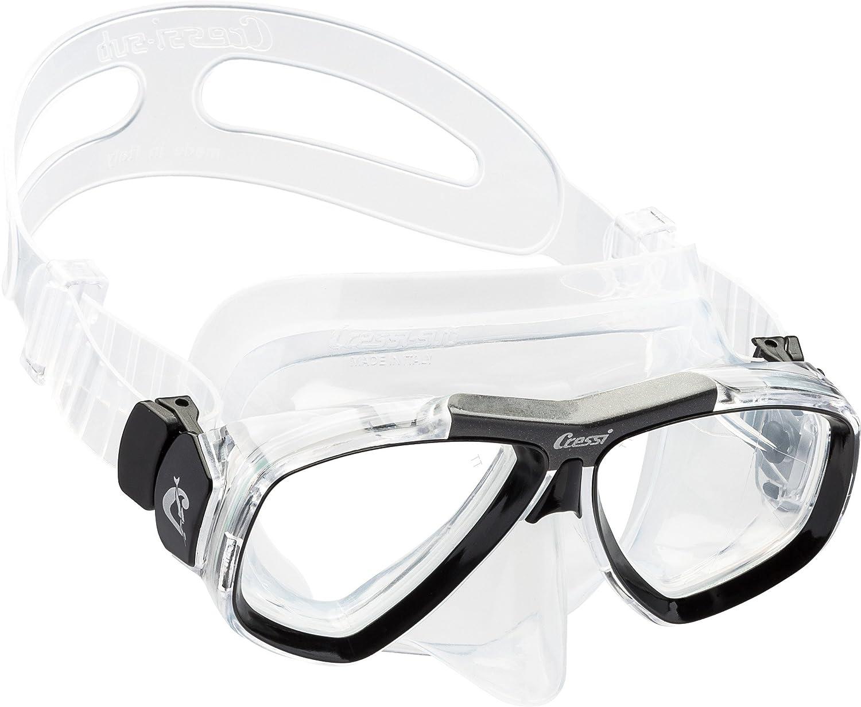 Cressi Focus - Gafas de buceo, color negro/azul: Amazon.es: Deportes y aire libre