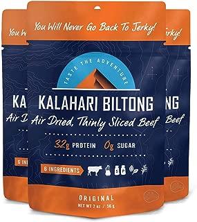 product image for Biltong -- Zero Sugar, Air Dried Beef - Non-GMO - 2 oz - 3 Pack (Original)